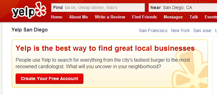 Yelp for Businesses and Online Reviews