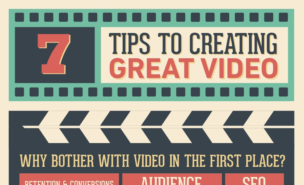 7 Tips To Creating Great Video