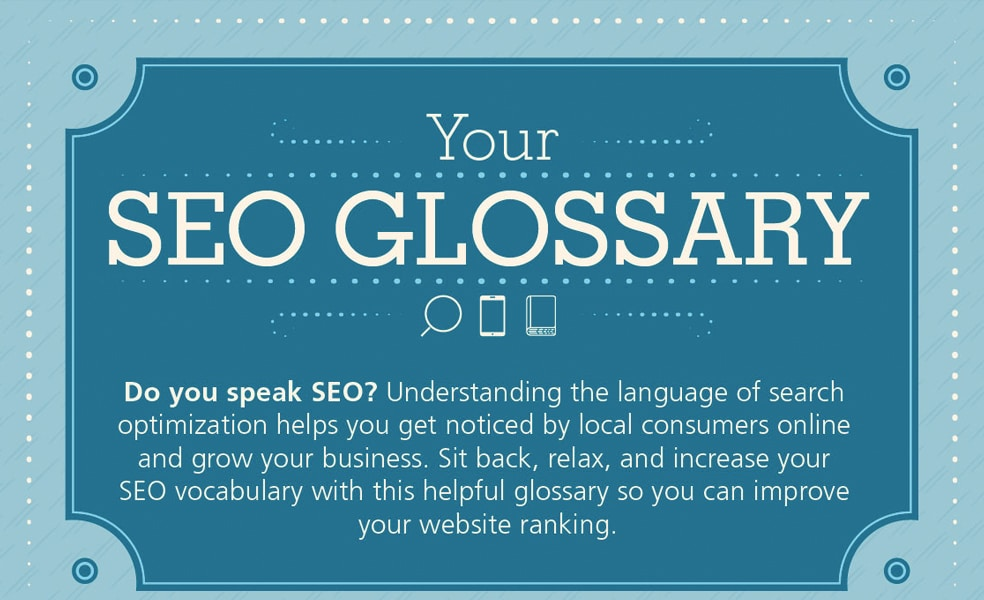 Your SEO Glossary Infographic