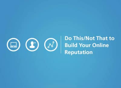iMatrix Webinar - Do This, Not That: Build Your Online Reputation
