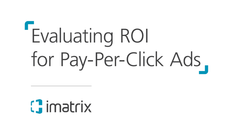 Evaluating ROI for PPC Ads