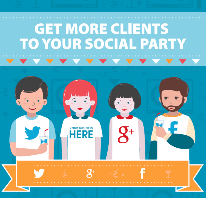 Get More Clients to Your Social Party eBook