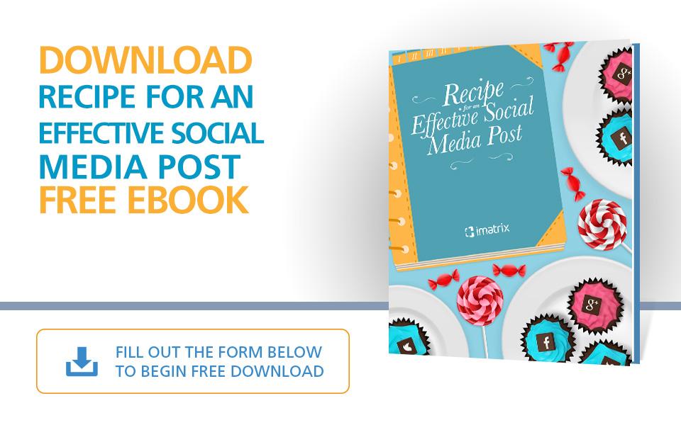 Recipe For An Effective Social Media Post - E-Book