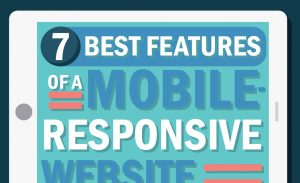 7 Best Features of a Mobile Responsive Website Infographic