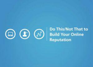 iMatrix Webinar - Do This, Not That: Build Your Online Reputation