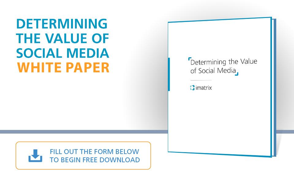 Determining the Value of Social Media - White Paper