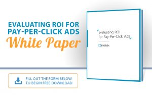 Evaluating ROI for Pay-Per-Click Ads - E-Book